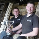 Big Tom and Will Groome Master Thatchers Team